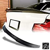 AeroBon Real Carbon Fiber Trunk Spoiler for 2014-21 BMW F22 2-Series Coupe / F87 M2 (High Kick Style)