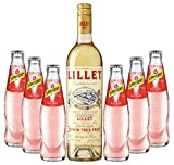 Sommeraperitif-Set Lillet Blanc 17% Vol. 0,75l & Schweppes Russian Wild Berry 6x0,2l inkl. 0,90€...