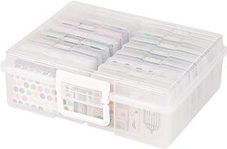 Universal Crafts Large Craft Storage Box - Clear