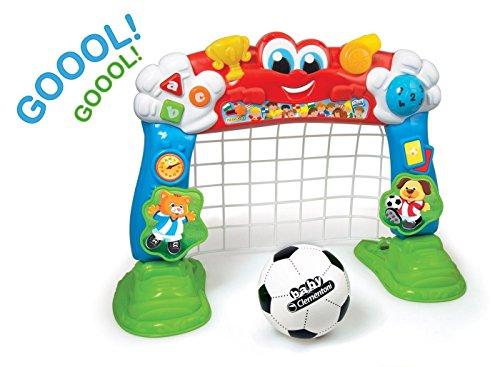 Baby Clementoni- Cuenta Goles Portería Fútbol Interactiva, Multicolor (550487)