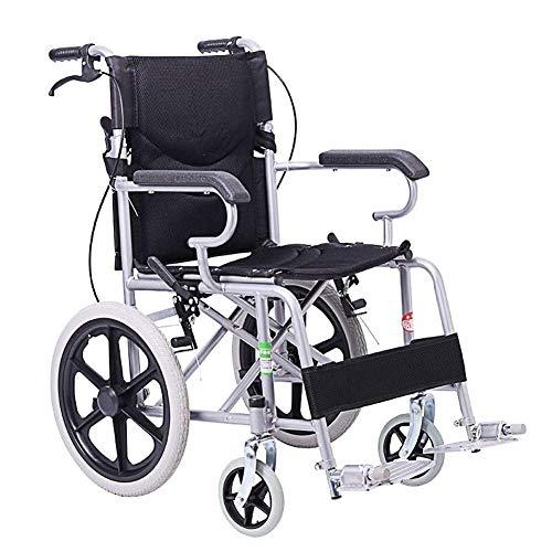 WXDP Autopropulsado Plegable, Ancianos/Discapacitados/Niños Ligero Viaje Portátil Carro Scooter Manual