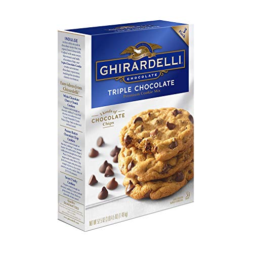 Ghirardelli Triple Chocolate Chip Cookie Mix (17.5 oz.3 pk.)