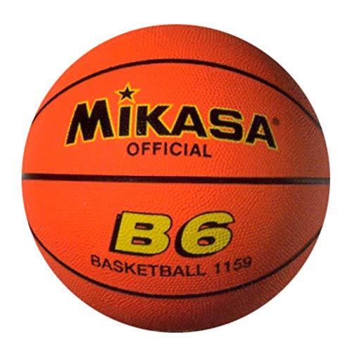 Mikasa B-6 - Balón de baloncesto, Naranja (Orange), 6