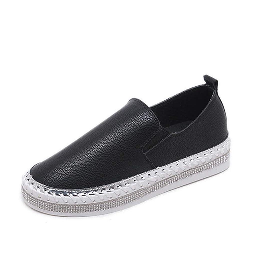 セミナー不和フライト[OceanMap] スニーカー 厚底スニーカー スリッポン ローファー レディース ホワイト ブラック シンプル 無地 軽量 おしゃれ カジュアル 歩きやすい 履きやすい かわいい ゆったり キレイめ 美脚 厚底靴 シューズ 通勤 通学 快適