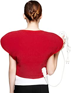 JMung Heat Pad for Neck Shoulder Back Stress Relief Fast-Heating 3 Temperature Settings Auto Shut Off Gifts for The Elderly
