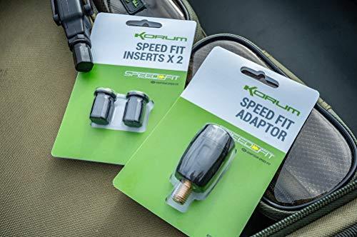 Korum Speed Fit Adapter zum Angeln K0360036