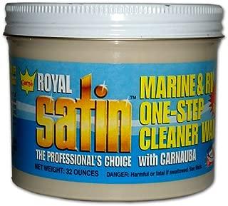 Garry's Royal Satin Marine & RV ONE STEP Cleaner Wax (1 Quart)