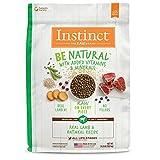 Instinct Be Natural Real Lamb & Oatmeal Recipe Natural Dry Dog Food by Nature's Variety, 24 lb. Bag