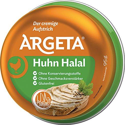 12x Argeta - Huhn Halal, Aufstrich - 95g