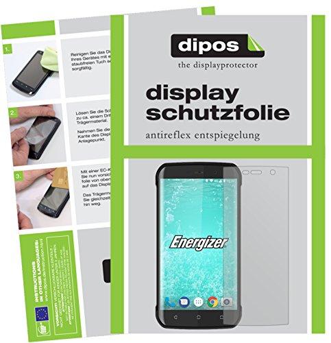 dipos I 6X Schutzfolie matt kompatibel mit Energizer Hard Hülle H550S Folie Bildschirmschutzfolie