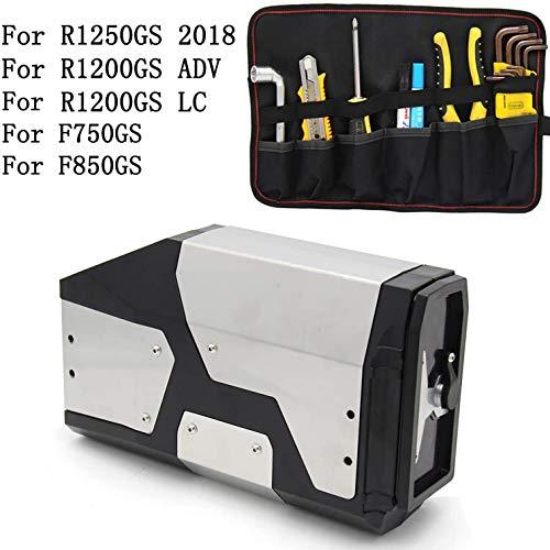 Caja de Herramientas de Caja de Aluminio Decorativa Adecuada para BMW R1200GS LC ADV Adventure 04-17 R1200GS R1200GS Soporte Lateral Derecho 4.2 litros