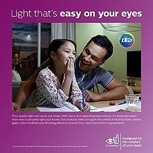 Philips 465054 LED GU10 Dimmable 35-Degree Spot Light Bulb: 400-Lumen, 3000-Kelvin, 6-Watt (50-Watt Equivalent), 3-Pack