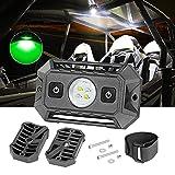 LED Dome Light, Auto Power Plus Universal Roll Bar LED Lights W/ Switch UTV Cab Dome Light Roll Cage Lights Interior Dome Work Light Car Reading Rock Light for UTV RZR Can-Am 4x4 Truck SUV Golf Cart