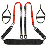 Bodyweight Resistance Training Straps – Home Gym - Fitness Training Kit for Women and Men –...