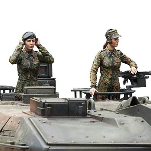 Torro RC 1:16 Figurenbausatz Bundeswehr Panzerbesatzung weiblich