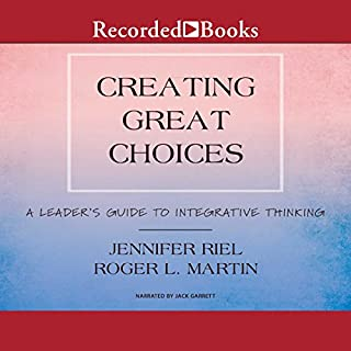 Creating Great Choices audiobook cover art