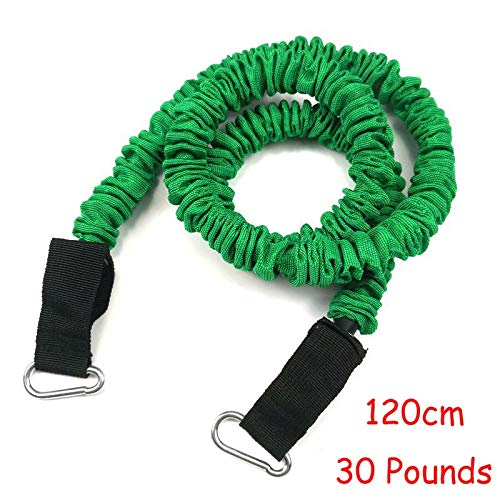 No logo Kppto 120cm Latex Pull Rope Resistance Band Multifunktions-Fitnesstraining Hochsprung Trainer Volleyball Taekwondo-Tritt (Farbe : 30 lbs)