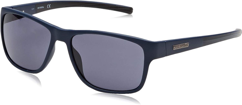 Harley Davidson Sonnenbrille Satin Silber//Grau HD0922 06A