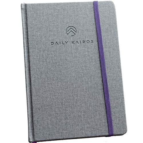 The Daily Kairos Journal: Christian Bible Journaling Devotional Notebook | Inspirational Gifts for Men and Women to Practice Prayer Study Gratitude