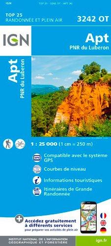 APT Parc Naturel Regional Luberon 1 : 25 000