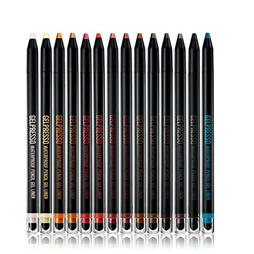 CLIO Gelpresso Waterproof Pencil Gel Liner, 12 Midnight Gray