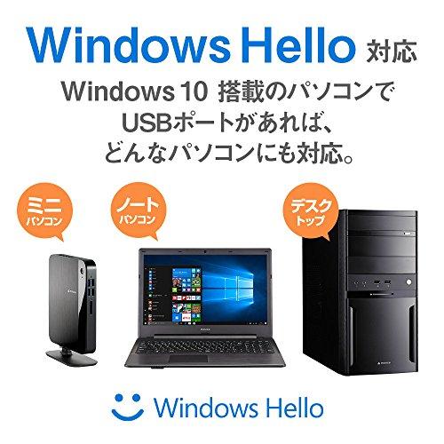 『mouse USB顔認証カメラ Windows Hello 機能対応 CM01』の2枚目の画像