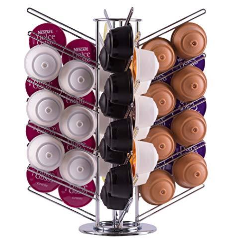 Support distributeur rotatif de 56 capsules Dolce Gusto | Babavoom® DG56
