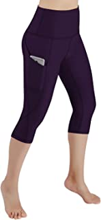 Out Pocket High Waist Yoga Pants,Tummy Control,Pocket Workout Yoga Pant