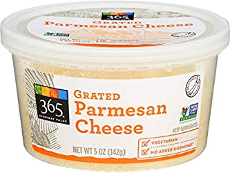 365 Everyday Value, Grated Parmesan Cheese, 5 oz (Packaging May Vary)