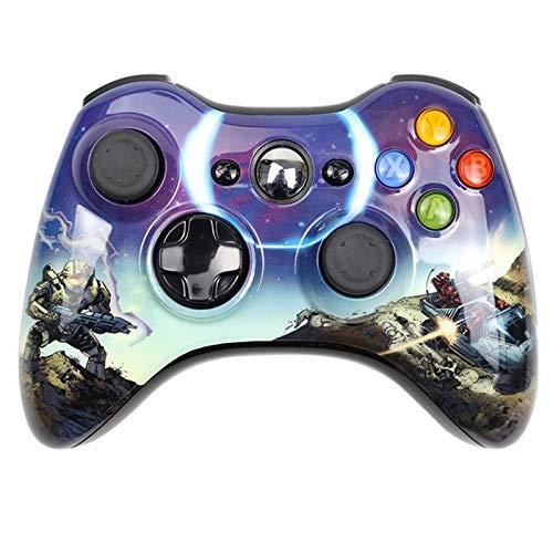 CMDZSW Apto for Xbox 360 Inalámbrico/con Cable Handle Controller Joystick Wireless (Color...