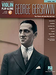 George Gershwin Violin Play-Along Vol.63