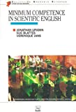 Minimum competence in scientific english - Presses Universitaires de Grenoble - 01/03/1998