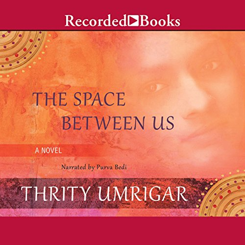 The Space Between Us audiobook cover art
