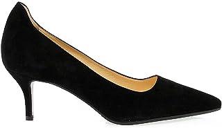 tiempo libre Première Femme Femme Femme Mujer PFEM1154N Negro Gamuza Zapatos Altos  Descuento del 70% barato