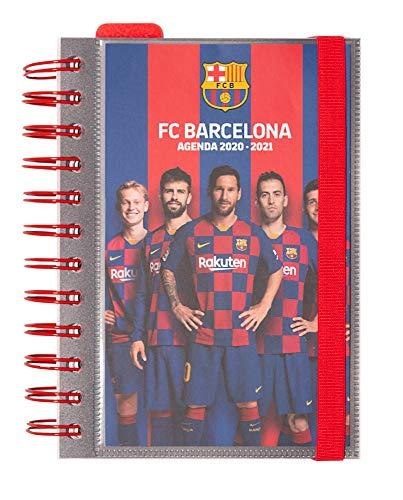 Diario Scuola Giornaliero 2020/2021, 11 mesi, 11,4x16 cm - FC Barcelona
