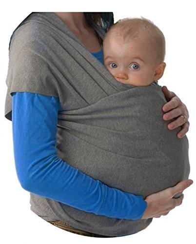 Fular portabebés elastico para llevar al bebé