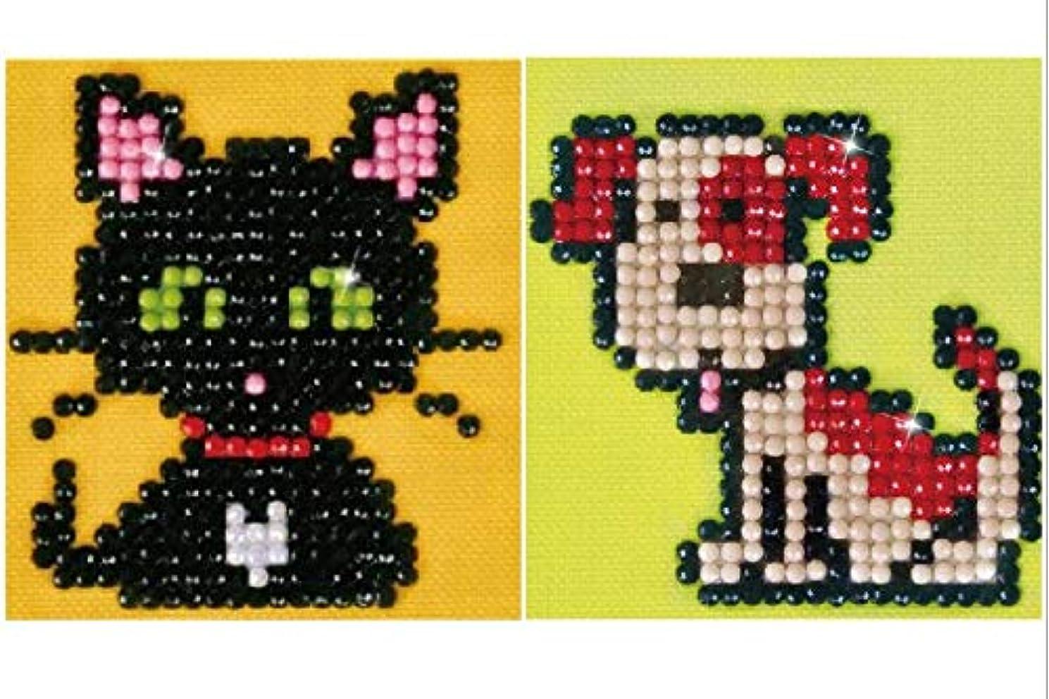 2 Kit Bundle, Diamond Dotz : Cat and Dog