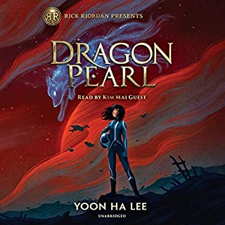 Dragon Pearl audiobook cover art