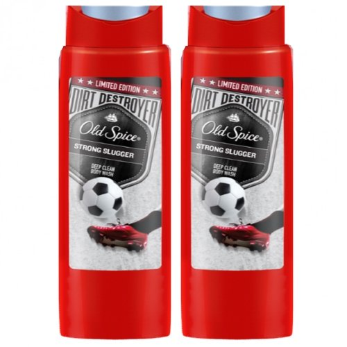 Old Spice Strong SLUGGER Lot de 2 gels douche 250 ml