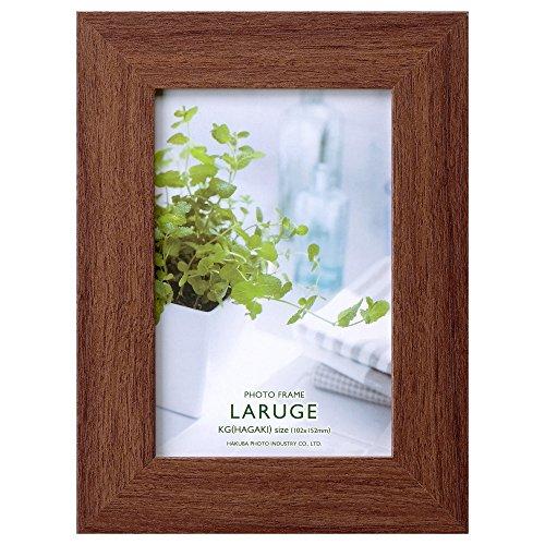 hakuba fotolijst Raruje KG (ansichtkaart) hout bruin FLAR-BRKG