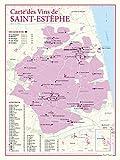 Carte des vins de Saint-Estephe
