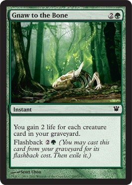 Magic: the Gathering - Gnaw to The Bone - Innistrad