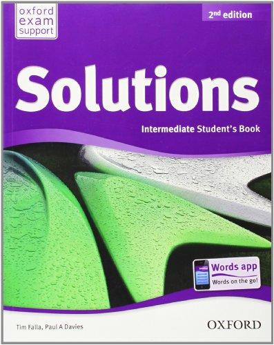 Solutions: Intermediate: Student Book (Solutions Second Edition)