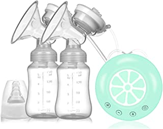 Breast Pump Electric Breast Pump Integrated, Breastfeeding Baby, USB Rechargeable, with Adjustable Massage Suction to Prev...