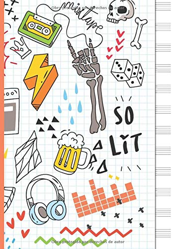 Cuaderno de Musica: Cuaderno de pentagramas - Musica Libreta A4 - 110...