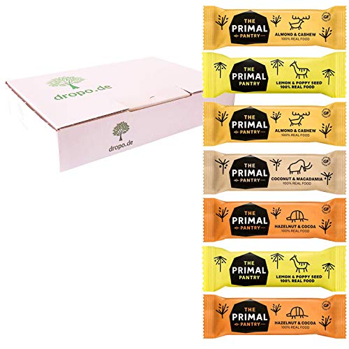 The Primal Pantry Vegane Paleo energie-reep – probeerbox 7 repen – glutenvrij