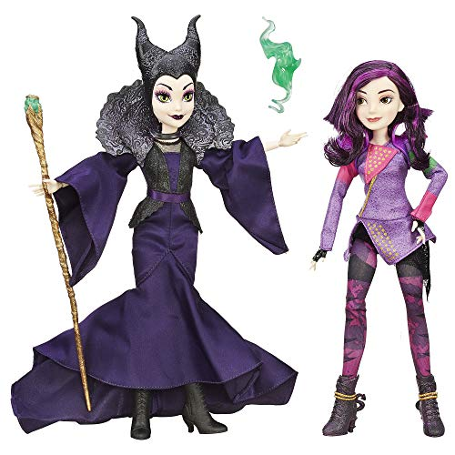 Disney Descendants Mal Isle of The Lost & Maleficent 2 Pack (Amazon Exclusive)