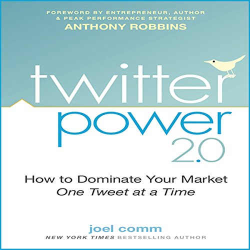 Twitter Power 2.0 audiobook cover art
