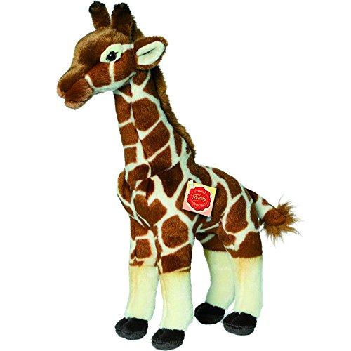 Teddy Hermann 90587 Giraffe stehend 38 cm, Kuscheltier, Plüschtier