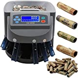 Electronic USD Coin Sorter and Counter with LCD Display, Sorts...